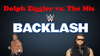 The Miz vs. Dolph Ziggler I Backlash 2016 I Intercontinental Championship I