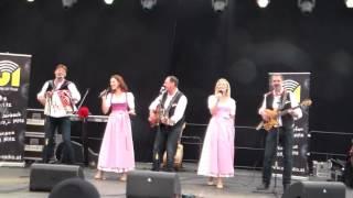 ZILLERTALER HADERLUMPEN + SIGRID & MARINA-AELL AM ZILLER, AUSTRIA 07-24-2016