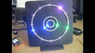 Neopixel WS2812 Ring Clock