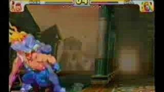 Street Fighter III: Eat Shit, Gill
