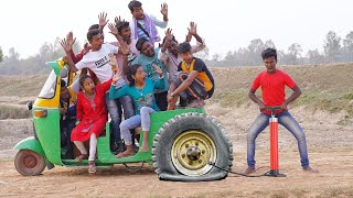 Must Watch New Funny Video 2021 Top New Comedy Video 2021 Try To Not Laugh_Episode179_By @MY FAMILY