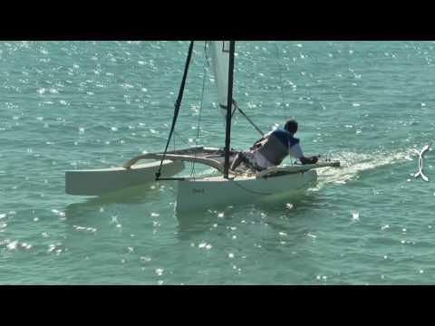 Sail the NINJA – a fast tacking proa in Langebaan