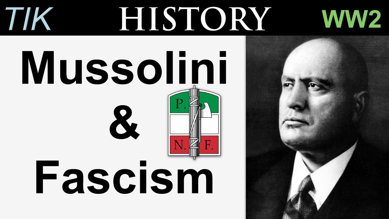 A Short History of Mussolini and Fascism | TIK history WW2 Q&A 18