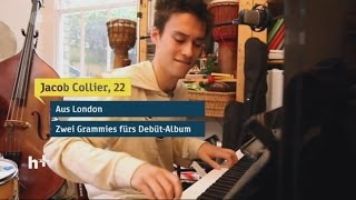 Jazz Wunderkind Jacob Collier  -  heuteplus | ZDF