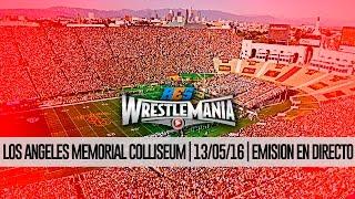ResEfed Wrestlemania Emisión en directo