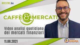 Caffè&Mercati - Bitcoin pronto a salire, Buy su EUR/USD e DAX