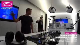 Steve Allen vs Mhammed El Alami  - Perception (Steve Dekay Remix) As played on ASOT807
