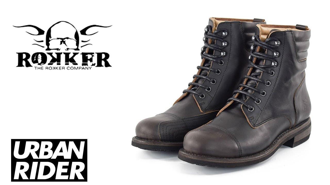 ROKKER URBAN RACER BOOTS BLACK
