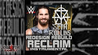 WWE: Redesign Rebuild Reclaim (Instrumental) [Seth Rollins] - DL with Custom Cover