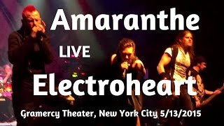 Amaranthe - Electroheart Live Gramercy Theater New York City 2015