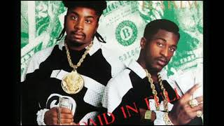 Paid In F-Ooh Wee - Eric B & Rakim VS Mark Ronson - (Mini mashup by DJ Butterfingerz)