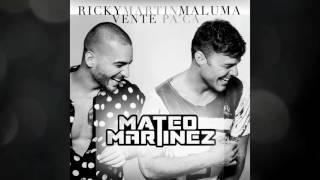 Vente Pa' Ca - Ricky Martin Ft. Maluma (Vers. Electro Latino) - Mateo Martínez Remix