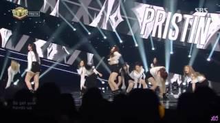 Pristin 프리스틴-《Black Widow 블랙 위도우》舞台混剪 Stage Mix 교차편집