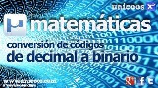 Imagen en miniatura para De decimal a binario