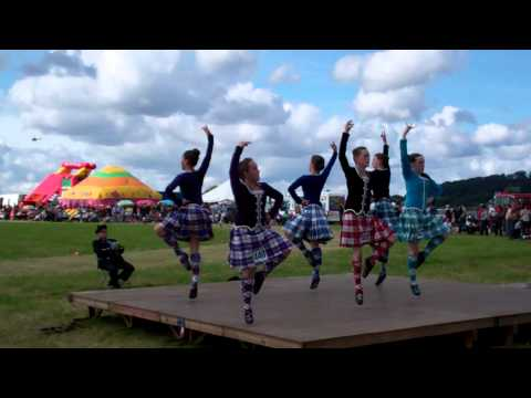 Highland Dancers Blairgowrie and Rattray Highland Games Perthshire Scotland September 4th