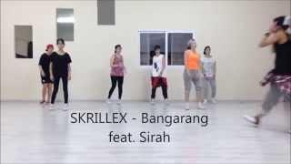 SKRILLEX - Bangarang feat. Sirah - Choreography
