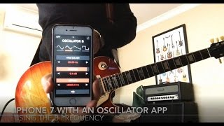 Whole Lotta Love - Led Zeppelin - (With Oscillator app demo) - Guitar Cover