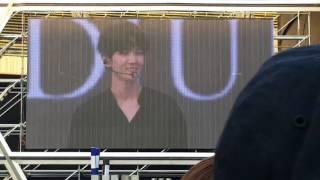 20170528 EXO Seoul Baekhyun opening talk