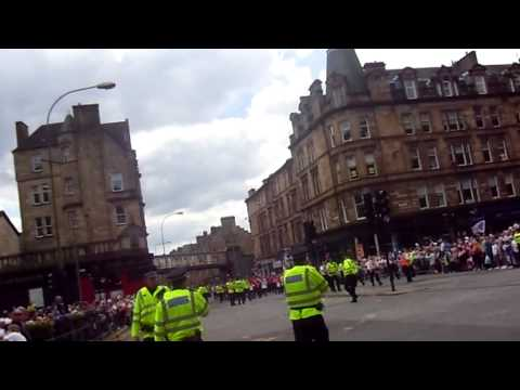 Orange walk glasgow 2011 glasgow cross part 1