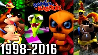 Banjo-Kazooie ALL INTROS 1998-2016 (N64, Xbox, GBA)