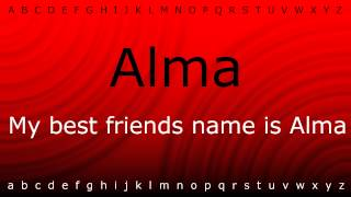 Here I will show you how to say 'Alma' with Zira.mp4