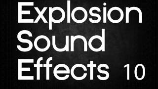 Explosion Sound Effects 10