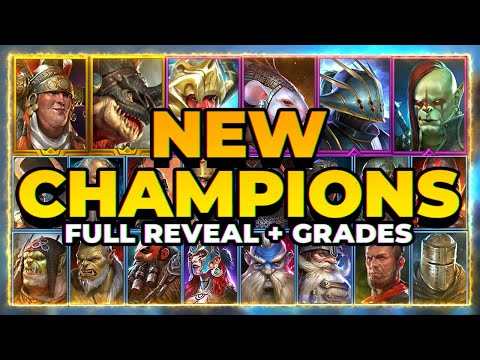 22 NEW CHAMPS??! | Who's GOOD, Who's TRASH! | RAID Shadow Legends