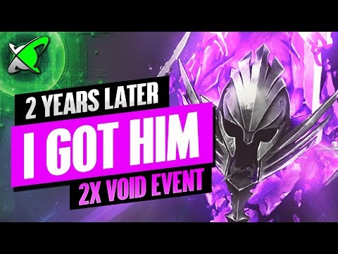 I FINALLY GOT HIM... AFTER 2 YEARS... | Void Shard Opening | RAID: Shadow Legends