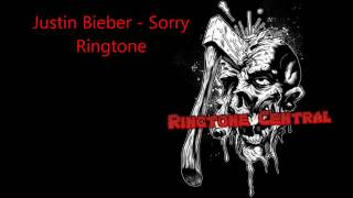 Justin Bieber - Sorry Ringtone (Marimba)