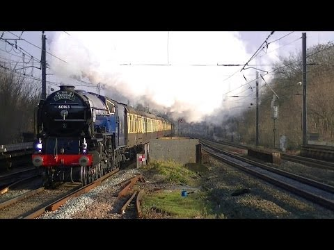 34067,Tangmere, 60009 Union of South Africa & 60163 Tornado. 8th December 2012
