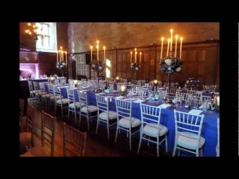 Purple Wedding at Achnagairn House, Scotland – 26th July 2011