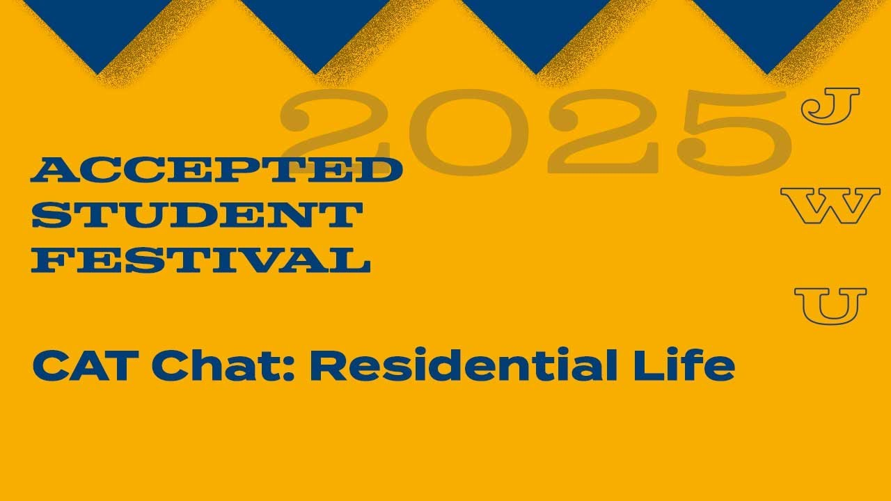 JWU Accepted Students Festival CAT Chat - Residential Life thumbnail