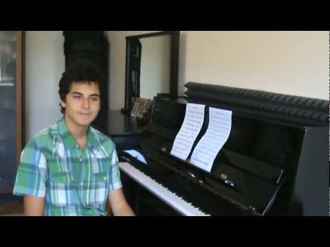 """""""Kürdili Hicazkar Saz Semaisi"""" Piyano ve Armoni:G.Yakartepe Besteci::Reşat Aysu Taksimi Türk"""