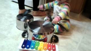 Just Duet (for pots and pans with toy vibraphone)