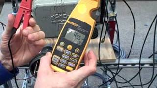 Loop current measurement using Fluke 772 clamp-on milliammeter
