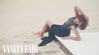 Kerry Washington Stuns In a Gown on the Beach - Cover Shoot - Vanity Fair