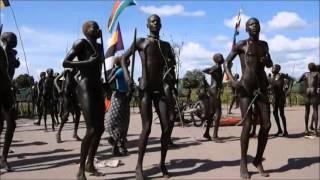 Mundari Dance from South Sudan width=