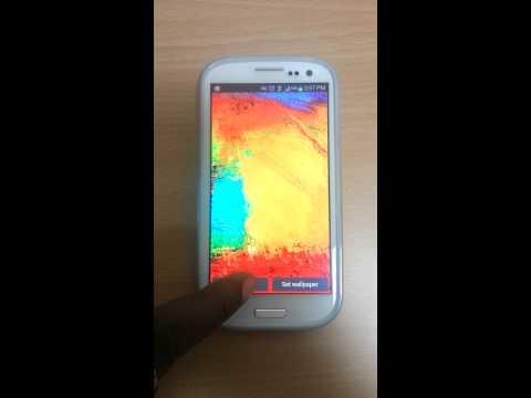 Galaxy Note 3 Live Wallpaper 1 0 8 Laden Sie Apk Fur Android