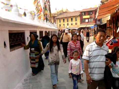 Nepal Bouddhanath – Round The Stupa 2