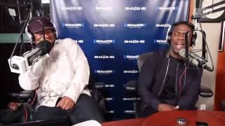 Kevin Hart spittin bars on sway in the morning.