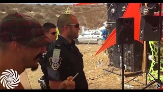 Police Visiting a Psytrance Rave - Oforia Live 2015 [HD]