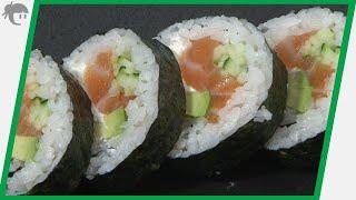 Video receta: Como preparar Maki con queso Philadelphia / Curso de sushi en Valencia