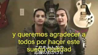 Video Agradecimiento Bill y Tom Award 2011Subtitulado Español