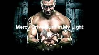 Randy Orton's old theme song :Mercy Drive-Burn In My Light