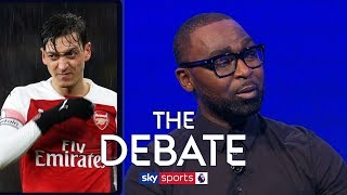 How can Arsenal solve the Mesut Ozil 'issue' to improve the club? | The Debate | Lennon and Cole