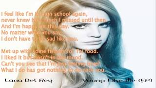 Lana Del Ray   Blizzard LYRICS