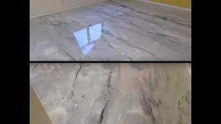 Porcelanato Líquido - Efeito Marmorizado Cinza