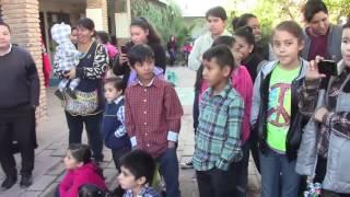 'Cortinas Guindas' al ritmo de LUIS OCHOA en FUNDACION EMMANUEL - 3 GRUPERO Televisa Dic 2016