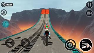 Impossible Motor Bike Tracks (Android Gameplay )