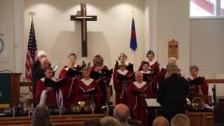 "HUCC Senior Choir  performed the  Anthem ""Evidence of Grace"""